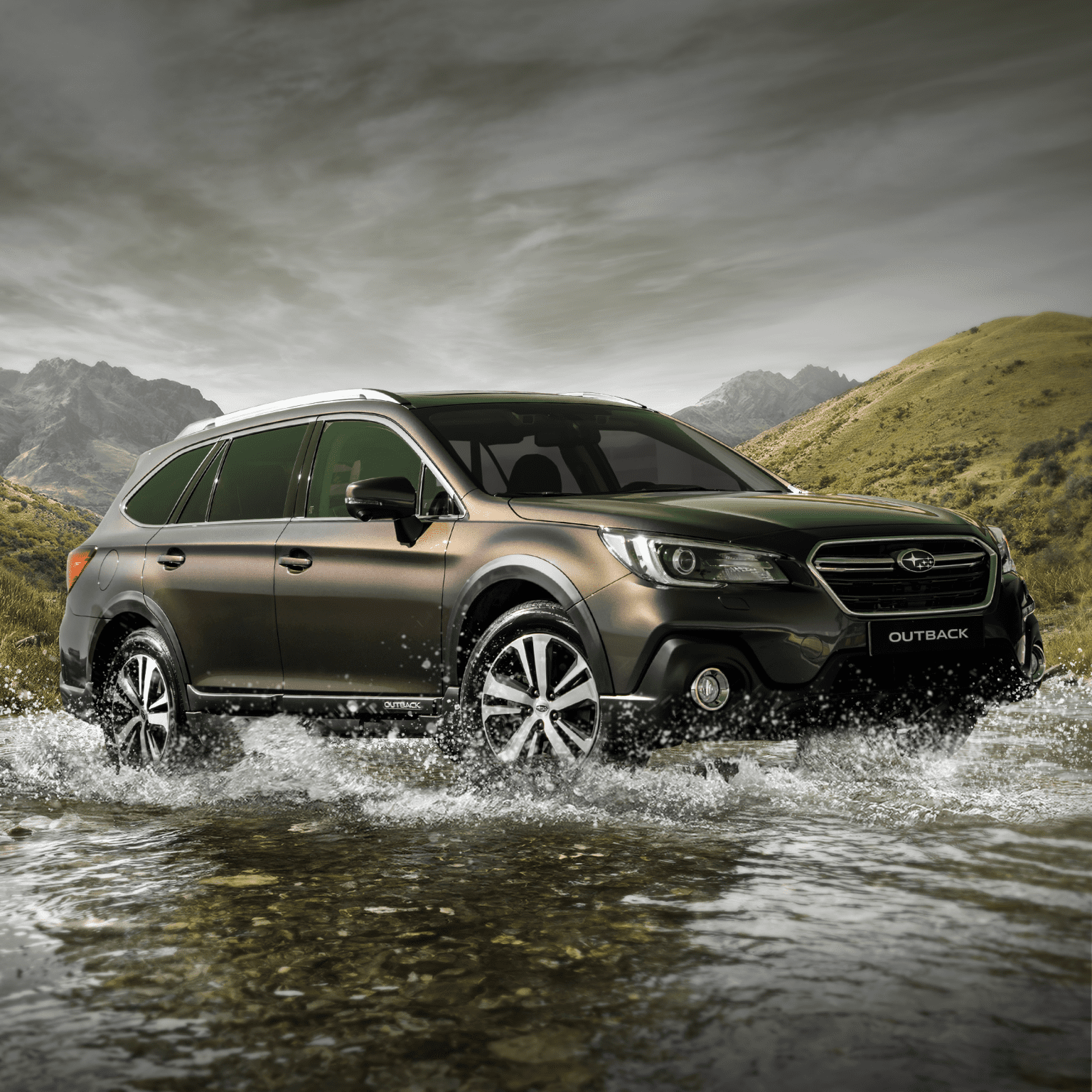 Subaru Outback proefrit