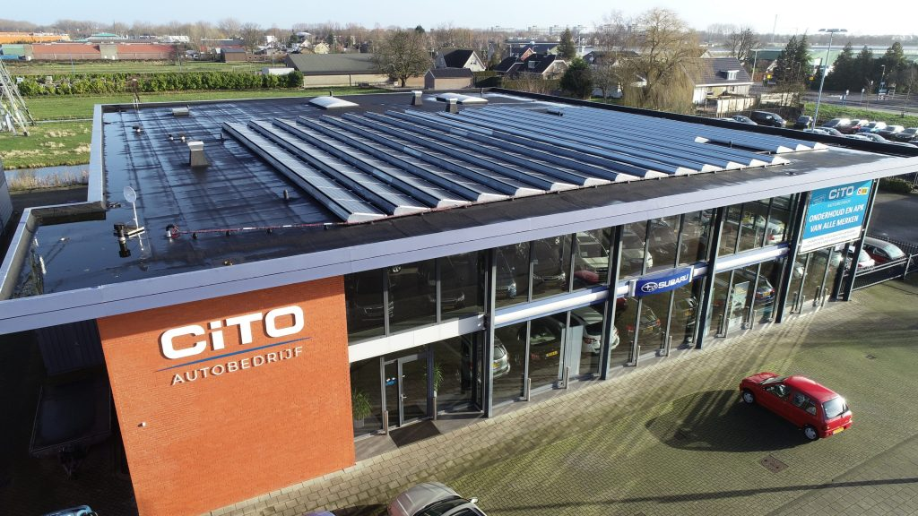 Duurzaam pand CiTO AUtobedrijf