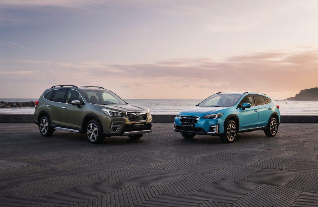 Subaru Forester en XV